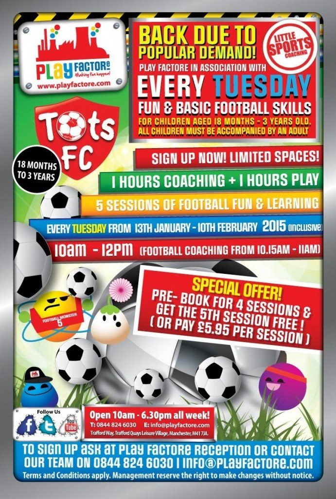 Tots FC @ Play Factore Jan 15